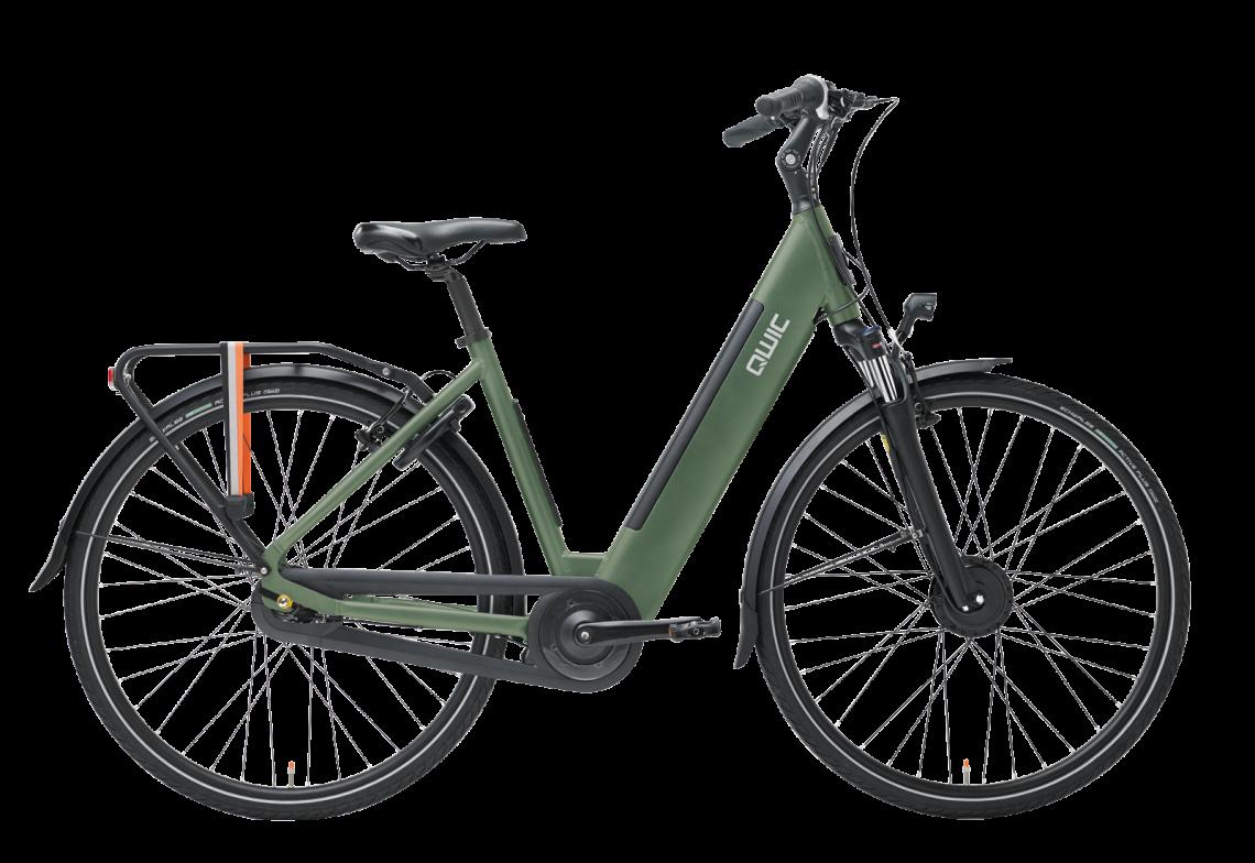Urban FN7 Lite vrouwelijk frame in de kleur army green