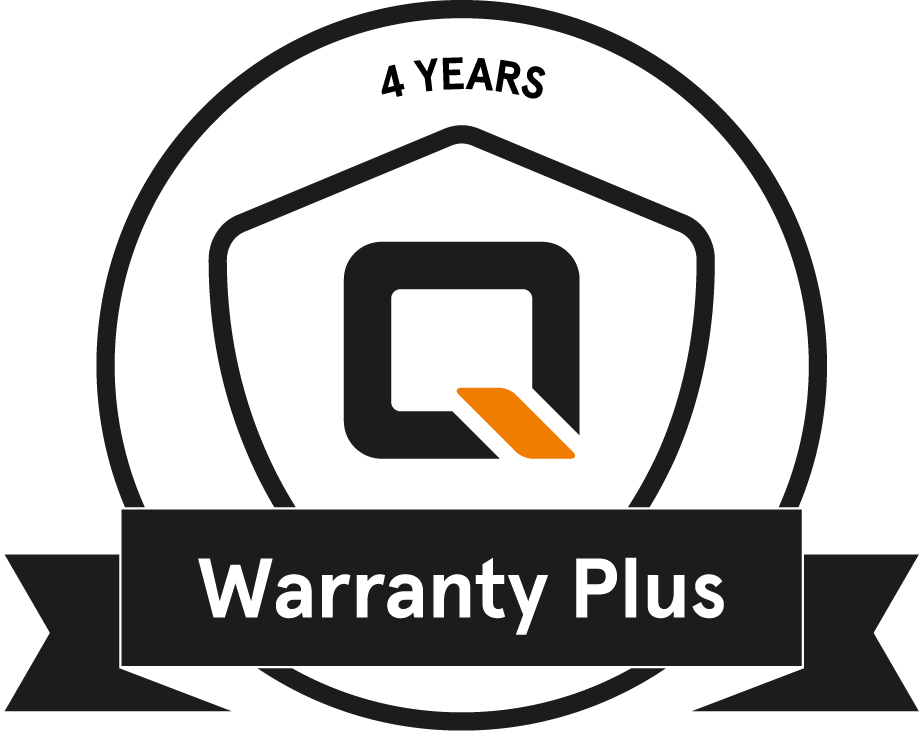 QWIC Warranty Plus badge