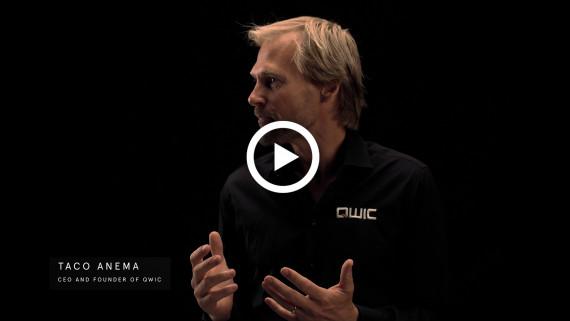 Taco Anema, oprichter van QWIC