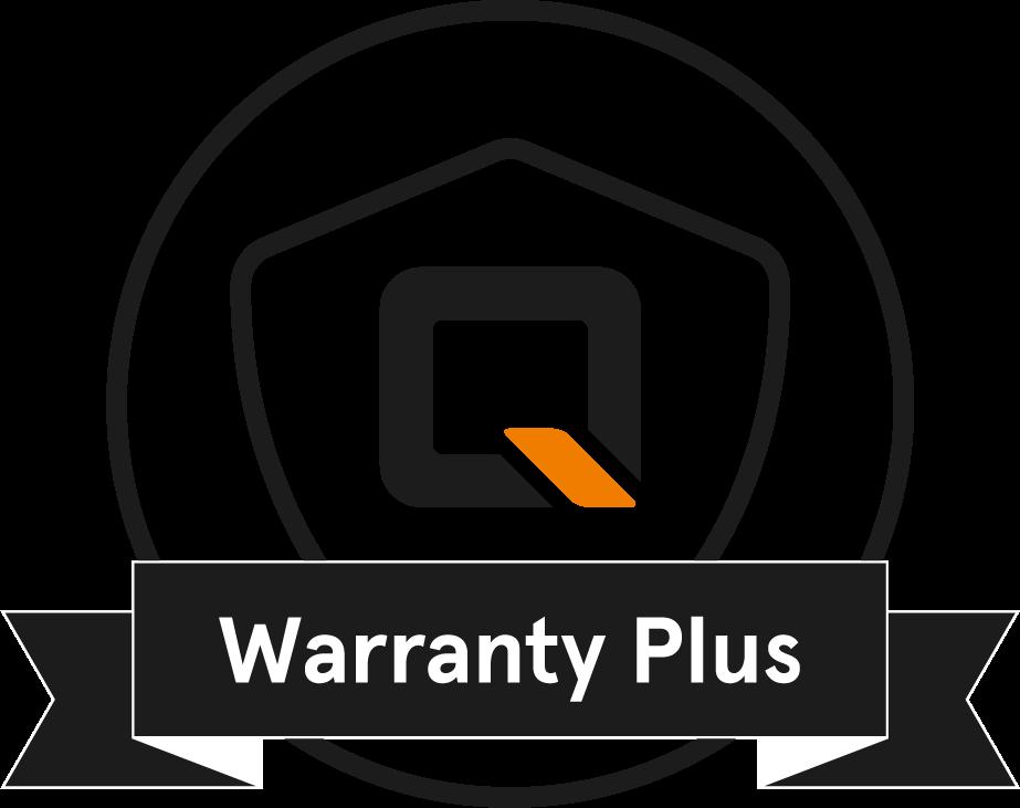 QWIC Warranty Plus badge